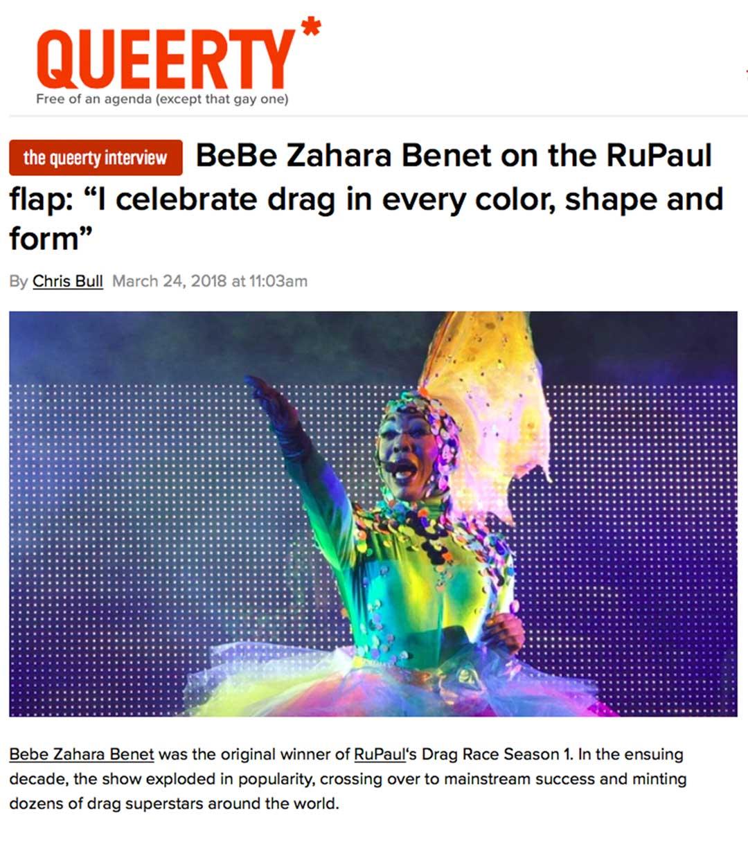 Queerty's Dragaholic